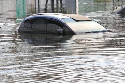 Flooded Vehicle