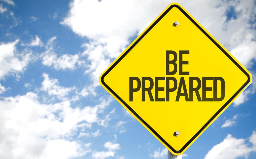 Be Prepared, hurricane season